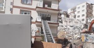 Açelya Apartmanı mağdurlarına 2 bin 500 lira kira yardımı