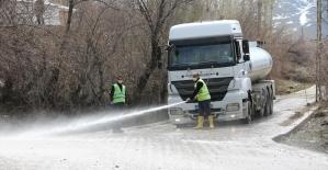 İpekyolu Belediyesinden bahar temizliği