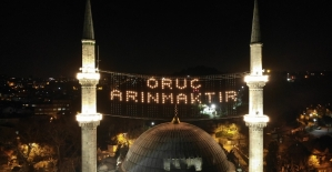 İstanbulda camiler Ramazan ayının...
