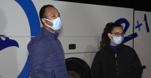 Riskli grubundaki baba ve kızı karantinaya alındı: 4 bin 50'şer lira ceza uygulandı