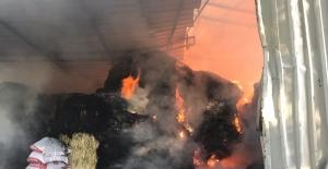 20 ton yem yanarak kül oldu