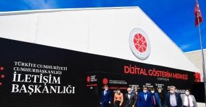 İletişim Başkanlığı Dijital Gösterim Merkezi bir yıl boyunca açık kalacak