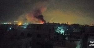 İsrail savaş uçakları soykırım için havada!