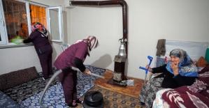 Kahramanmaraş'ta 65 yaş üzeri vatandaşlara hizmet