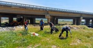 Kahramanmaraş'ta Aksu Nehri temizlendi