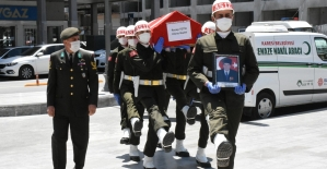Kıbrıs Gazisi Recep Tetik son yolculuğuna uğurlandı