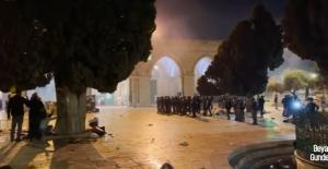 Kudüs ve Mescid-i Aksa#039;dan Canlı...