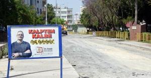 Tarsus'ta tam kapanmada yol çalışmalarına hız verildi