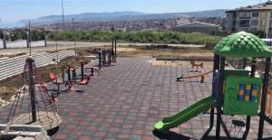 100 bin metrekare park çalışması yapıldı