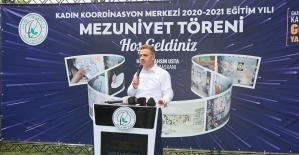 Gaziosmanpaşa'da 5 bin 734 kursiyer eğitimini tamamlayıp sertifikasını aldı