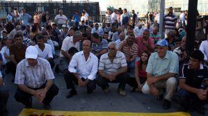 Bursa Alevi Bektaşı Dernekleri İŞİD'e protesto etti