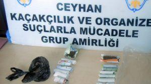 Ceyhan'da uyuşturucu tacirlerine şafak operasyonu