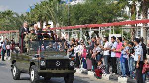 Cumhuriyet Bayramı KKTC'de de coşkuyla kutlandı