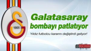 Galatasaray yine bombayı patlattı