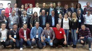 Kızılay yönetici, çalışan ve gönüllüleri 'Afete Hazırlık Eğitimi' aldı