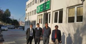 Osmaniyeli üreticilerden Ceyhan Veteriner Fakültesi'ne ziyaret