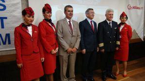 Yerli elektronik uçuş çantasının tanıtımı yapıldı