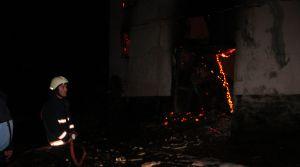 Zonguldak'ta yangın: 1 ölü
