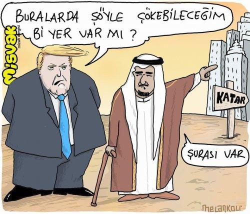 ABD - Arabistan'ın Katar'a yönelik saldırıları