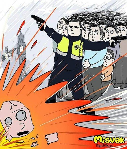 İzmir Patlamasında Kahraman Polis