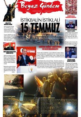 Beyaz Gündem | Haber - Haberler - 15.07.2017 Manşeti