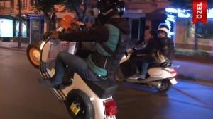 Motosiklet sürücülerinin ölümle dansı