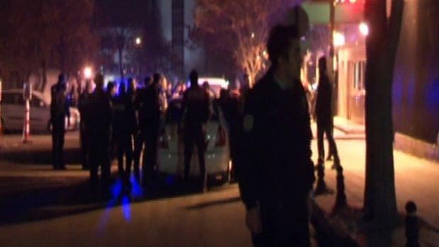 ABD Büyükelçiliği'nde silahlı eylem