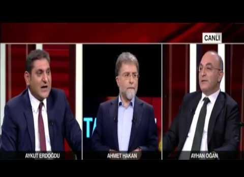 CNN Türk canlı yayınında kavga çıktı