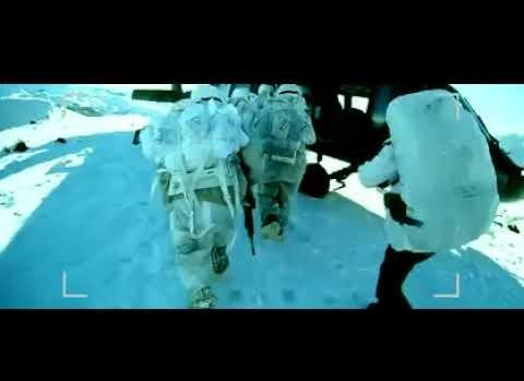 Kar altında Jandarma'dan operasyon