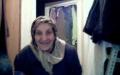 Kendini webcamda gören teyze