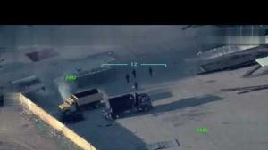 YPG Afrin'de araçları yakıyor